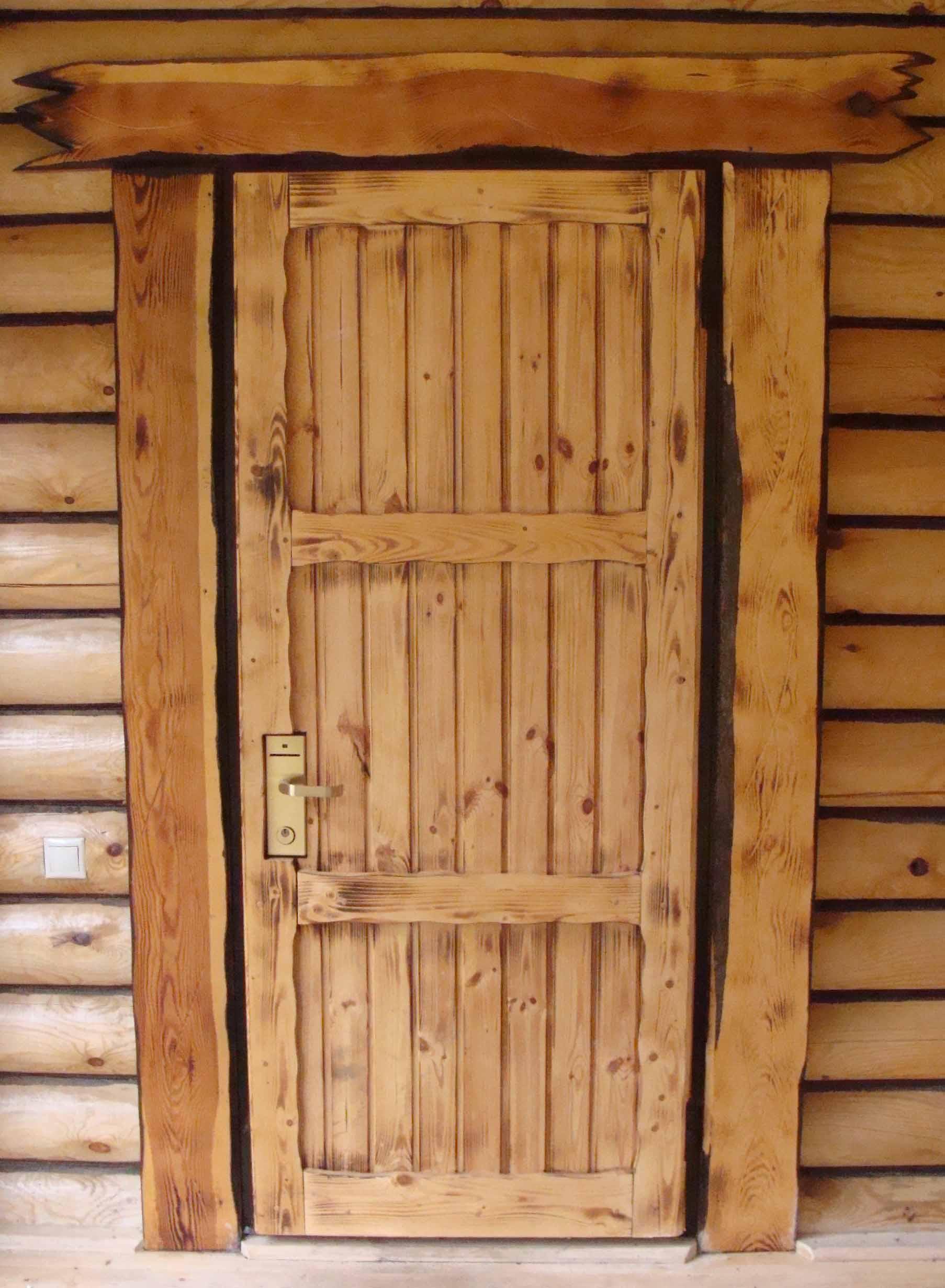 Porte d entr e Sun Bois exotique - Portes